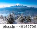 富士山 樹氷 風景の写真 49169706