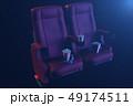 ムービー 映画 シネマのイラスト 49174511