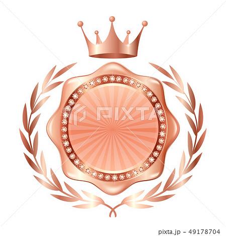 王冠 メダル 銅 アイコン  49178704