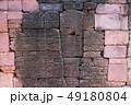 Old big brick wall background 49180804