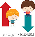 キッズ 子供 少年のイラスト 49184858
