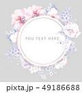 花 フラワー お花のイラスト 49186688