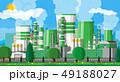 工場 製造所 エコのイラスト 49188027