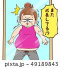 腹回りの急成長 49189843