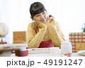 女性 バレンタイン バレンタインデーの写真 49191247