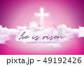 復活祭 朝焼け 日の出のイラスト 49192426