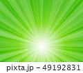 背景 放射状 緑色のイラスト 49192831