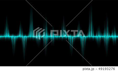 line soundwave abstract background 49193276