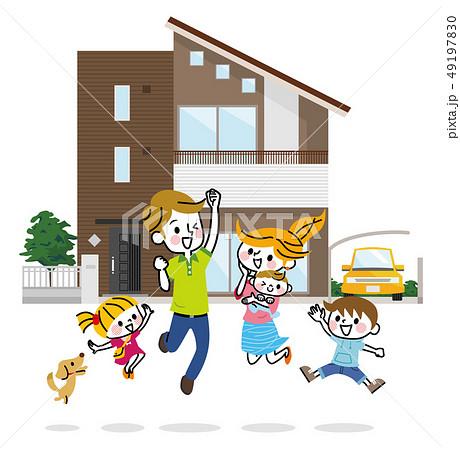 マイホーム 家族 49197830