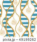 ロープ シームレス パターンのイラスト 49199262