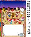 出店 縁日 お祭りのイラスト 49211551
