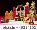 クリスマス サンタクロース サンタの写真 49214302