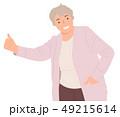 人々 人物 ポートレートのイラスト 49215614