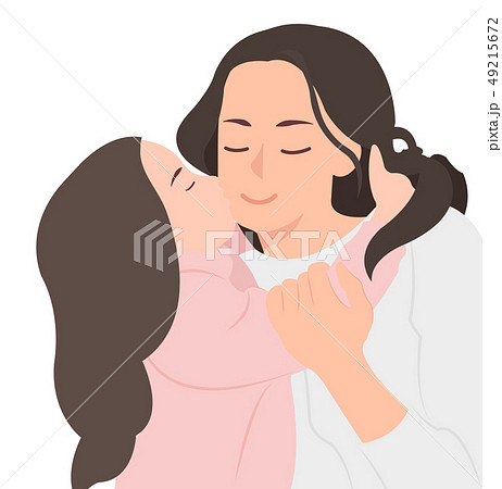 Cartoon people character design happy mother's day 49215672