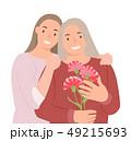 人々 人物 ポートレートのイラスト 49215693