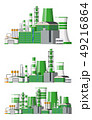 工場 製造所 建物のイラスト 49216864