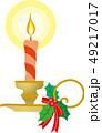 クリスマスキャンドル 49217017