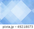 ポリゴン 角柱 多角形のイラスト 49218073