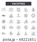 ヨット 船 クルーズのイラスト 49221651