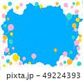 風船 雲 青空のイラスト 49224393