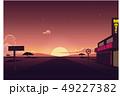 砂漠 景色 風景のイラスト 49227382