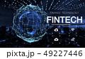 グローバル テクノロジー ネットワークのイラスト 49227446
