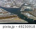 静岡県富士市の田子の浦港を空撮 49230918