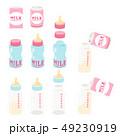 3タイプの液体ミルクと哺乳瓶 49230919