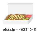 焼きそば 麺類 料理のイラスト 49234045