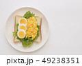 食パン パン 卵の写真 49238351