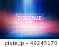 Graphical abstract cyberspace security text back 49245170