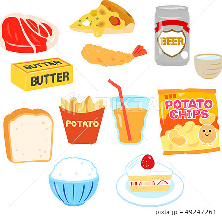 中性脂肪を増やす食品 49247261
