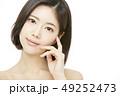 女性 アジア人 ファンデーションの写真 49252473