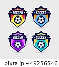 サッカー アイコン イコンのイラスト 49256546