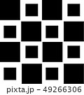 Pattern with black squares 49266306