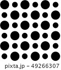 Pattern with black circles 49266307
