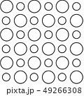 Black outline circles 49266308