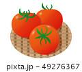 トマト 野菜 夏野菜のイラスト 49276367