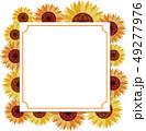 ひまわり 夏 花のイラスト 49277976