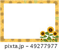 ひまわり 夏 花のイラスト 49277977