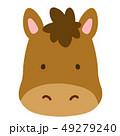 馬 午 動物のイラスト 49279240