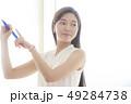 女性 人物 アジア人の写真 49284738