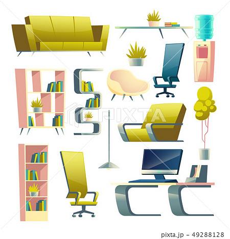 House or apartment furniture cartoon vector set 49288128