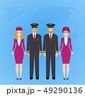 パイロット 操縦士 飛行士のイラスト 49290136