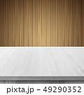 白木 台 テーブルのイラスト 49290352