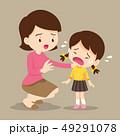 慰める 泣く 泣き声のイラスト 49291078