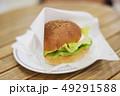ハンバーガー perming写真素材 49291588