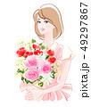 母の日の花束2 49297867