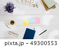 Message at colorful note papers on a desk background. 49300553