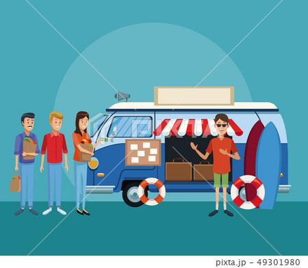 Surf shop van 49301980